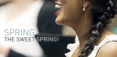 Spring, the sweet spring! <br /><span>Koop cd</span>